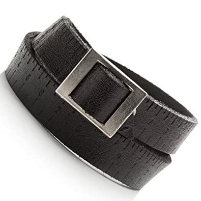 ba26343373b0 R B Bijoux - Bracelet de Force Homme - Style Urbain Boucle Ceinture de  Poignet - Manchette