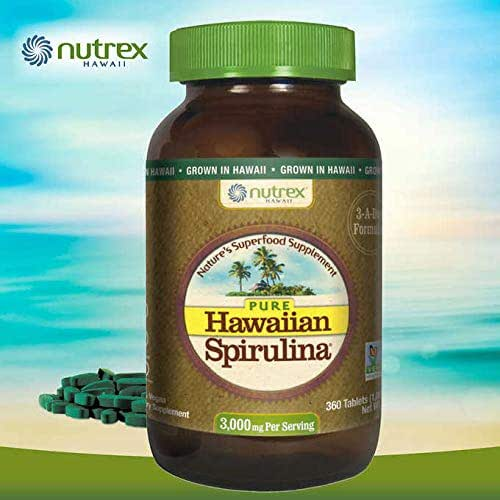 Expect More Pure Hawaiian Spirulina 3000 mg, 360 Tablets