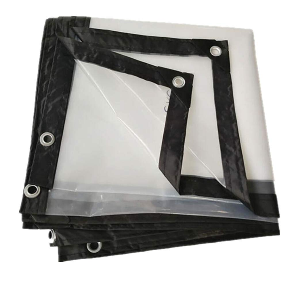 FH Clear Polythene Sheeting 125Mu Plastic Sheet Protection Cover (Size : 58m)