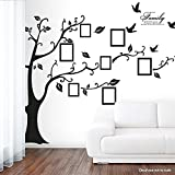 """Newisland® 79"""" x 98"""" XXL Photo Picture Frame Family Tree Removable Wall Sticker"""