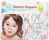 Honest Diapers, Multi Colored Giraffes, Size 5, 25 Count