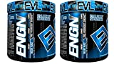 Evlution Nutrition ENGN Pre-Workout, 30 Servings, Intense Pre-Workout Powder for Increased Energy, Power, and Focus (Blue Raz) Pikatropin-Free (2 Container Pack)