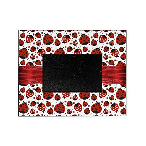 CafePress - Ladybug Obsession - Decorative 8x10 Picture ()
