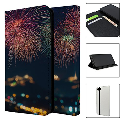 Fireworks Full Flip Case Schutzhülle für für Apple iPhone 8–S4989