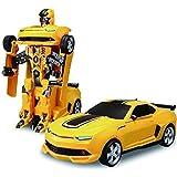 Blossom Kids Transformer Converting Car to Robot Toy Transformer, Standard(Multicolour,blossom 8986)