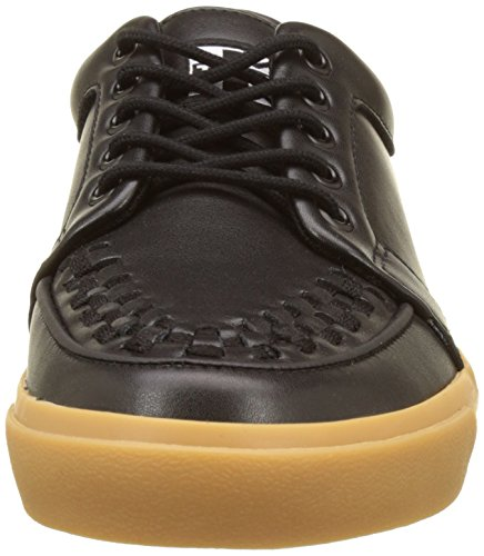 Sneaker black T Vlk u – gum k Unisex Creeper Alte Adulto Nero Leather Black Leather Leather wqrIOqA