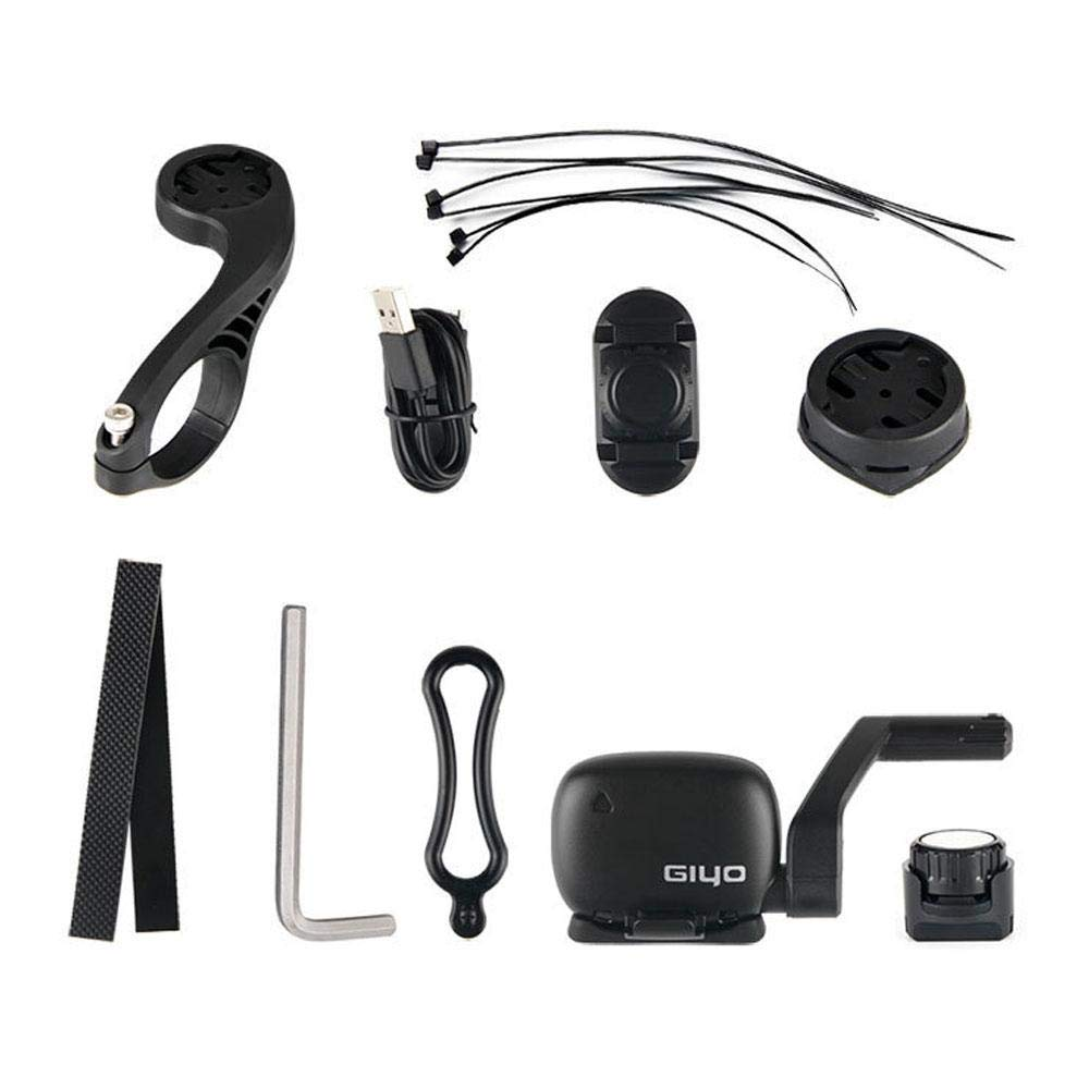 Heart Rate Monitor IPX5 Waterproof Wireless Bluetooth Bike Computer Multi-Functions LCD Backlight Display FOONEE Bike Speedometer and Odometer