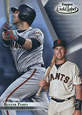 Amazoncom 2018 Topps Gold Label Class 183 Buster Posey San