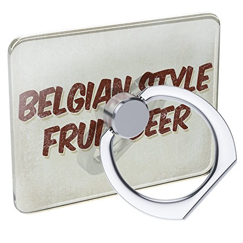 Cell Phone Ring Holder Belgian Style Fruit Beer, Vintage style Collapsible Grip & Stand - Beer Fruit Belgian