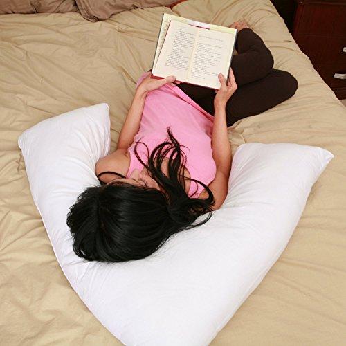 V Side Sleeper Pillow White - Boomrang-NEW-v pillow-pillo...