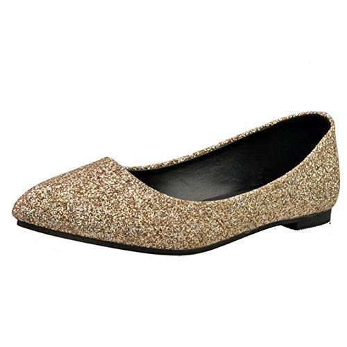 Puntiagudos zapatos moda ocio señora/Plano/Zapatos de las mujeres planas de Corea B