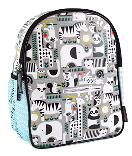 Petit Collage Preschooler Eco-Friendly Backpack, Animals