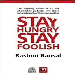 Stay Hungry Stay Foolish Book