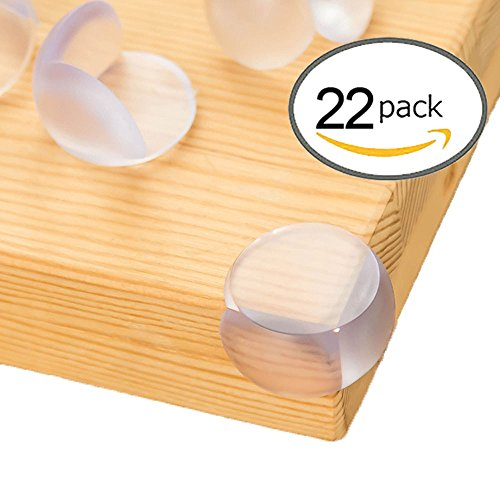 Price comparison product image Baby Proofing Corner Guards,KEBE High Resistant Adhesive Gel,Baby Proof Corner Guards | Stop Child Head Injuries,Tables,Furniture & Sharp Corners Baby Proofing