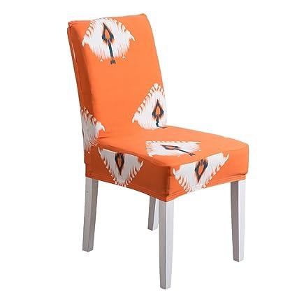 LamberthcV sedia, materiale poliestere elastico Leafs stampa fiore ...