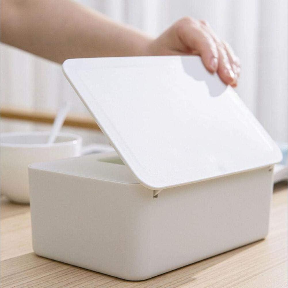 meaningful Knowes comfy Toallitas h/úmedas Dispensador Soporte Tejido Estuche de almacenamiento con tapa para oficina en casa