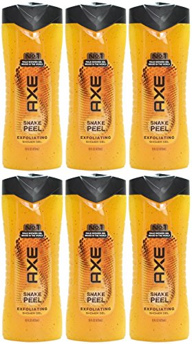 Axe Exfoliating Shower Gel, Snake Peel, 16 Ounces (Pack of - Axe Body Wash