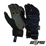 Radar Vapor K - BOA - Inside-Out Glove - Black/Blue Ariaprene - M
