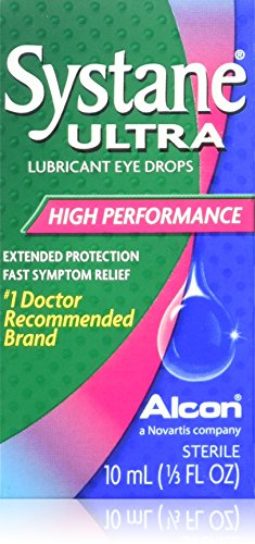 Systane Ultra High Performance Lubricant Eye Drops Alcon - 10Ml (Pack Of 3)