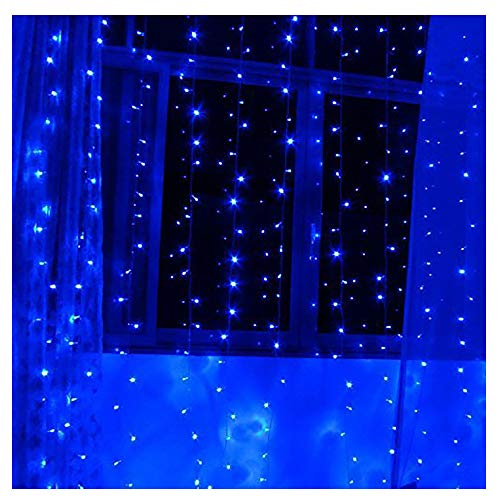 Light Blue Led Icicle Lights in US - 9