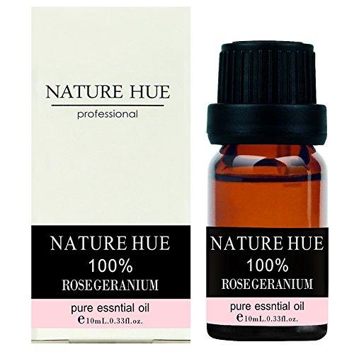Nature-Hue-Rose-Geranium-Essential-Oil-10-ml-100-Pure-Therapeutic-Grade-Undiluted
