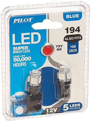 Am Pilot Vehicle (Pilot Automotive (IL-194B-5-AM) Blue 5-SMD LED Dome Light Bulb - 2)