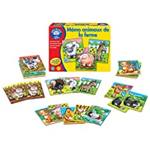 Orchard Farm Animals Matching and Memory Game, French Language Version