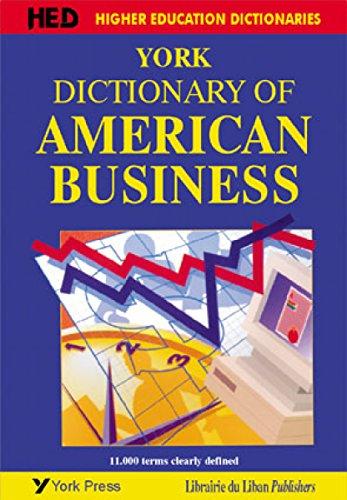 York Dictionary Of American Business ebook