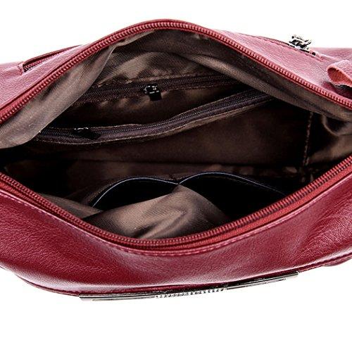 Crossbody Hobos Bag Handbags Bags Bag Violet Top Tote Light Women's Handle Satchel Leather Shoulder PU pCawnq