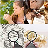 2PCS Upgrade 5X Small Magnifying Glasses for
