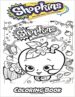 Amazon Com Shopkins Coloring Book Coloring Book For Kids And