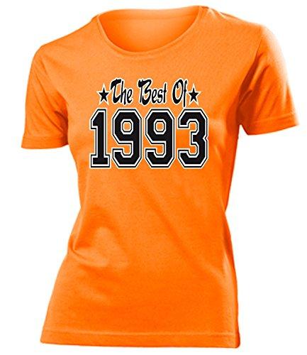 THE BEST OF 1993 - DELUXE - Birthday mujer camiseta Tamaño S to XXL varios colores Naranja