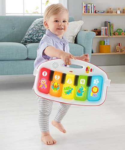 512DKtRQsGL - Fisher-Price Deluxe Kick 'n Play Piano Gym