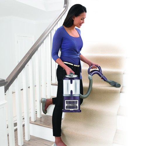 Shark Navigator Lift-Away Deluxe Upright Vacuum, Purple (NV361PR) by SharkNinja (Image #4)
