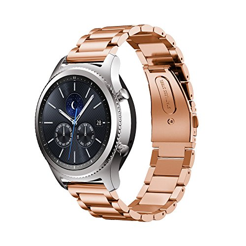Gear S3 Watch Band,DATOtech 22mm Premium Solid Stainless ...