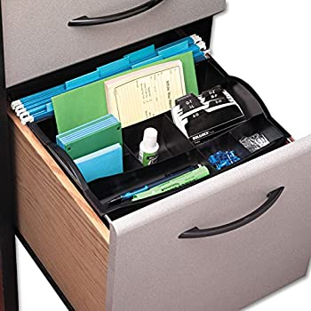 Amazon.com : Rubbermaid Hanging Desk Drawer Organizer, Plastic ...