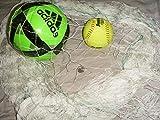 ball containment net - 30 Ft x 25 Ft Sports Barrier & Containment Netting, Softball, Soccer, Basketball,Football, Volleyball, Multipurpose, Fishing Net, Fish Net