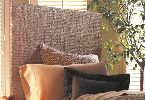 Padma's Plantataion Grass Weave Headboard, Twin - Padmas Plantation Loft