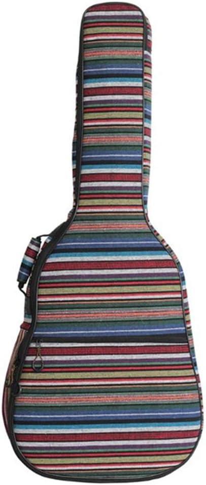 ZNSH Accesorios Accesorios de Guitarra acústica clásica Bolsa de la Guitarra, Folk Bolsa de Guitarra, Guitarra Bolsa, Doble Hombro Ajustable Correas, Guitarra Folk Jugar Bolsa