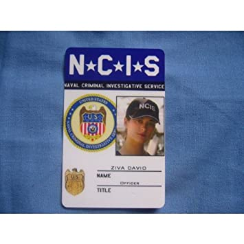 Amazon.Com : Ncis Special Agent Ziva David Pvc Id Card Badge Ncis