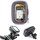 DURAGADGET Water-Resistant Cyclists Clear Capacitive Case & Handlebar Mount - Compatible with the Garmin Nuvi 200 | 2200T | 30 WE | eTrex 30 | eTrex 20 Satnavs