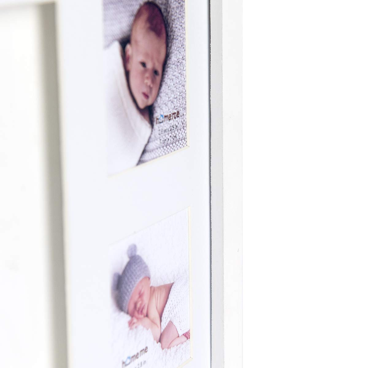 Keepsake Box Decorations for Room Wall Nursery Decor Baby Handprint Kit /& Footprint Photo Frame for Newborn Girls and Boys Baby Photo Album for Shower Registry Personalized Baby Gifts