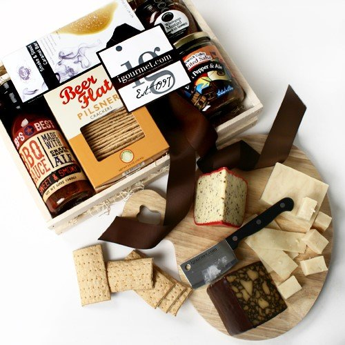 For The Beer Lover Gift Crate (3.9 pound) (Beer Lovers Gift Basket)