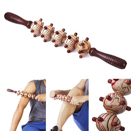 Wood Body Puzzle ('Wood Roller Body Trigger Point Massage Stick Leg Massager Muscle Relief Tool')