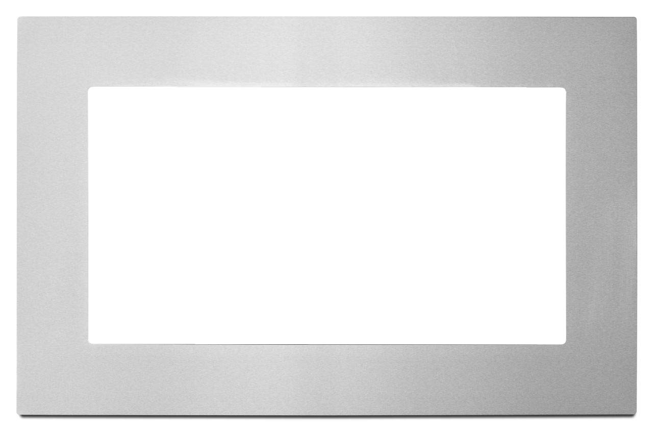 "WHIRLPOOL KITCHEN APPLIANCES 2492245 1.6 cu.ft. Countertop Microwave Trim Kit, 27"", Stainless Steel"