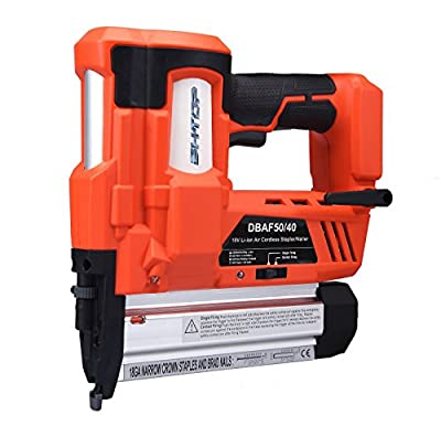 BHTOP Cordless Nailer & Stapler- 2 in 1 18Ga Heavy Tool With 18Volt 2Ah Lithium-ion Rechargeable Battery,(Include Battery and Charger)