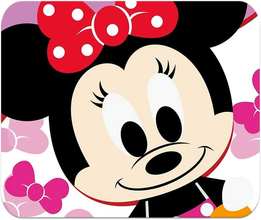 Office Home YPKSTORE Mickey Mouse Minnie Mouse Pad Personalized Non-Slip Mousepad Cartoon Pattern Gaming Mouse Pad Slim Skid Proof High Mouse Tracking for Gaming
