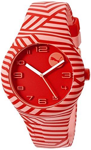 PUMA Women's ' 10300 Form' Quartz Pink Casual Watch (Model: PU103001018)