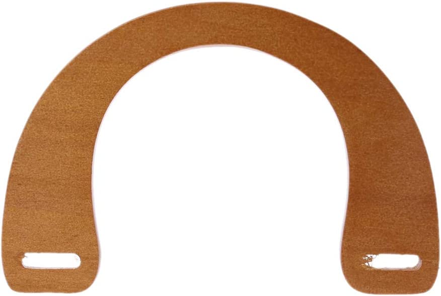 Wooden Purse Handle for Bag Making Handle Shopping Tote Replacement DIY Crafts