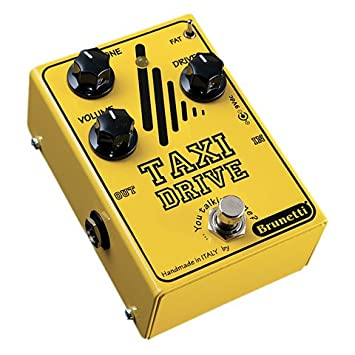 Brunetti Taxi Drive · Pedal guitarra eléctrica: Amazon.es: Instrumentos musicales